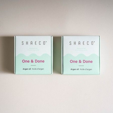 2 x One & Done Argan Oil Shampoos 115 gr /4 0z