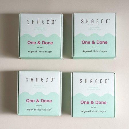 4x One & Done Huile d'Argan 115 g