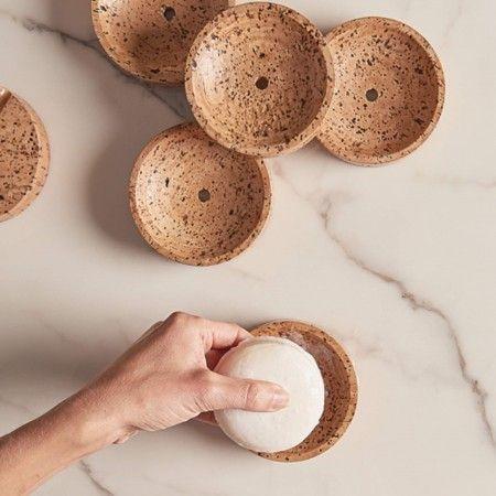 Seashell Cork Soap Dish