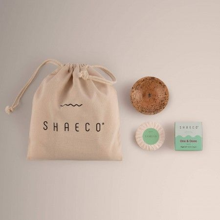 2x One & Done 115 gr/ 4 oz + Seashell Soap Dish + Pure Bag