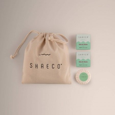 3x Shampoo Bar + 100% Cotton Bag