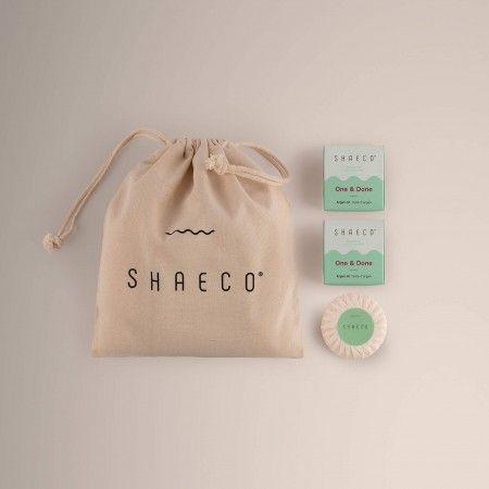 3x Shampoing Solide + Sac à-porter 100% Coton