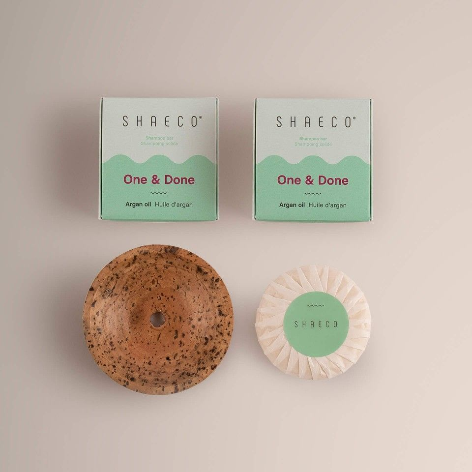 3x One & Done 115 gr + Porte-Savon Seashell