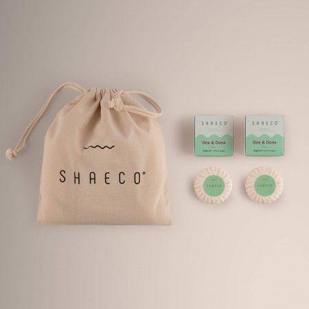 4x Shampoo Bar +  100% Cotton Bag