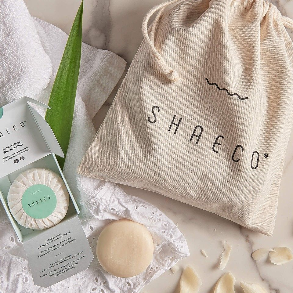 2x Shampoo Bar + Cotton Bag
