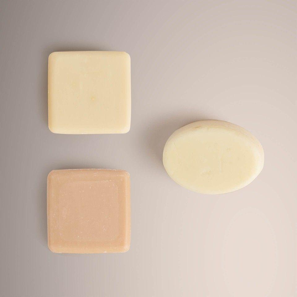 Savon + Barre de nettoyage du visage + Hydratant Solide du corps