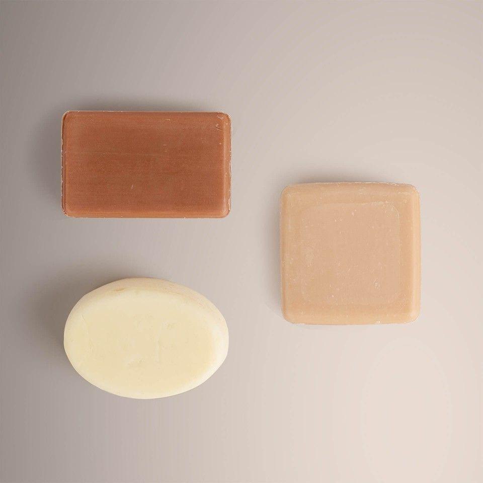 Body Soap + Face Cleansing Bar + Body Moisturizing Bar