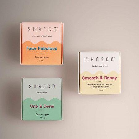 Shampoing Solide + Après-shampoing Solide + Barre de nettoyage du visage