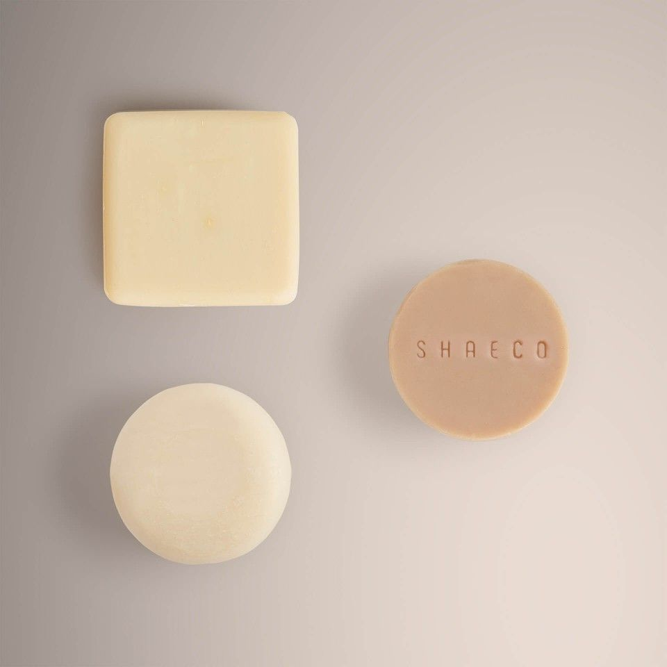 Solid Shampoo + Solid Conditioner + Face Cleansing Bar
